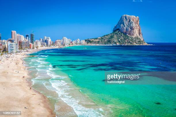 peñon de ifach-comunidad autonoma de valencia, spain - spain stock pictures, royalty-free photos & images