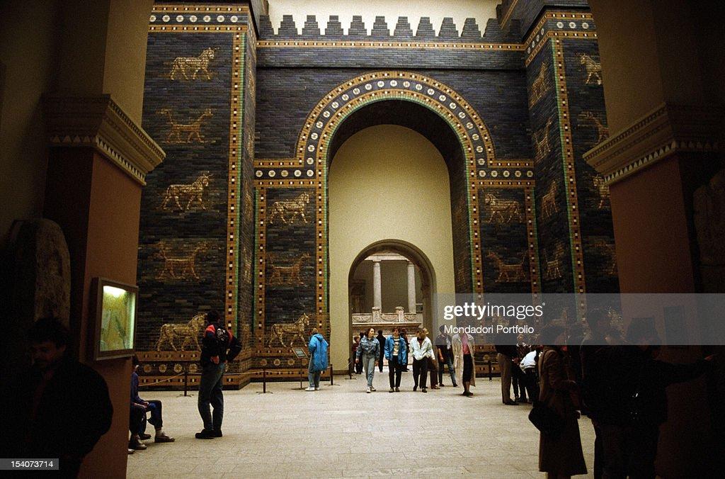 Ishtar Gate at the Pergamon Museum : News Photo