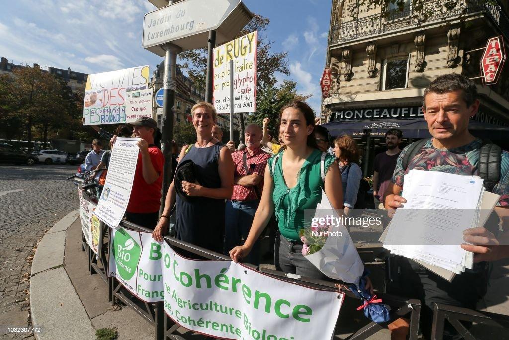 Gathering in Paris Against The Glyphosate : Photo d'actualité