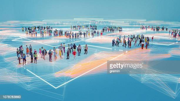 people and modern technology connection - peer to peer stock pictures, royalty-free photos & images