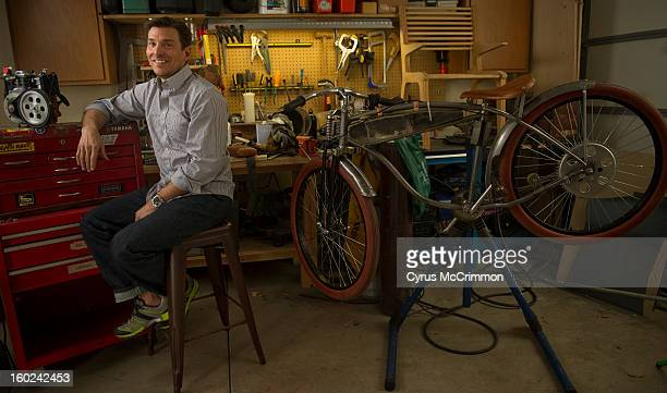People and places with advertising whiz Alex Bogusky in his garage/workshop at his Boulder home on Thursday January 24 2013 Bogusky is building a...