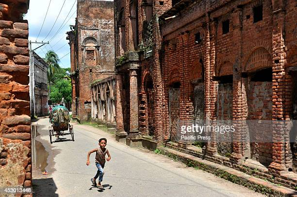 People are enjoying themselves in Shonargaon Panam old city Shonargaon means 'gold' it is a 19th century old trading center of cotton fabrics during...