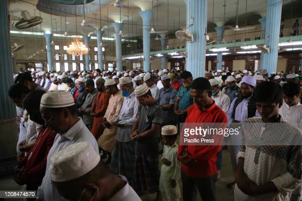 People are performing 'Jummah Prayer' as a precaution against COVID-19. So far 44 people have been infected by Covid-19 in Bangladesh, of whom 5 died...