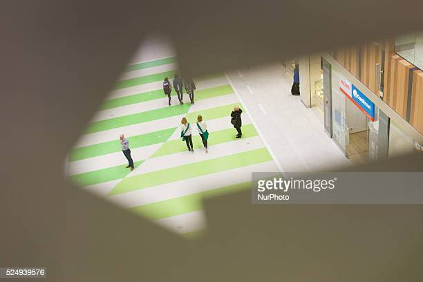 People are seen in the newly opened Zielony Arkady mall on Friday one of the largest in Poland The recently elected government set up a proposal for...