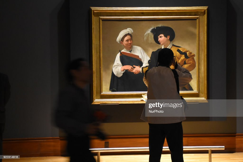 Caravaggio Art Exhibition in Mexico City : News Photo