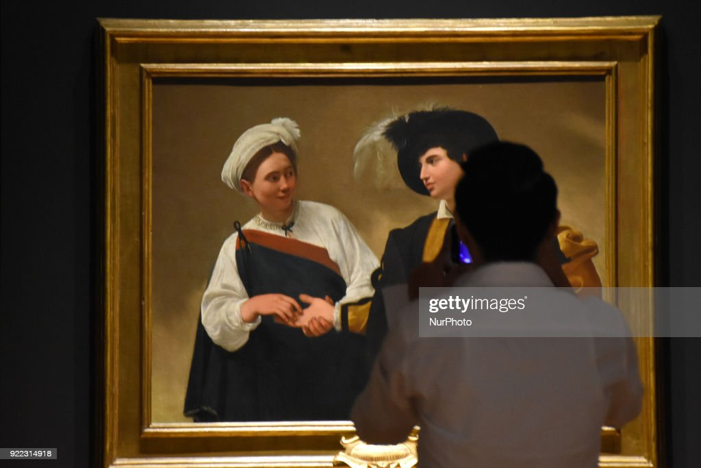 Caravaggio Art Exhibition in Mexico City : News Photo