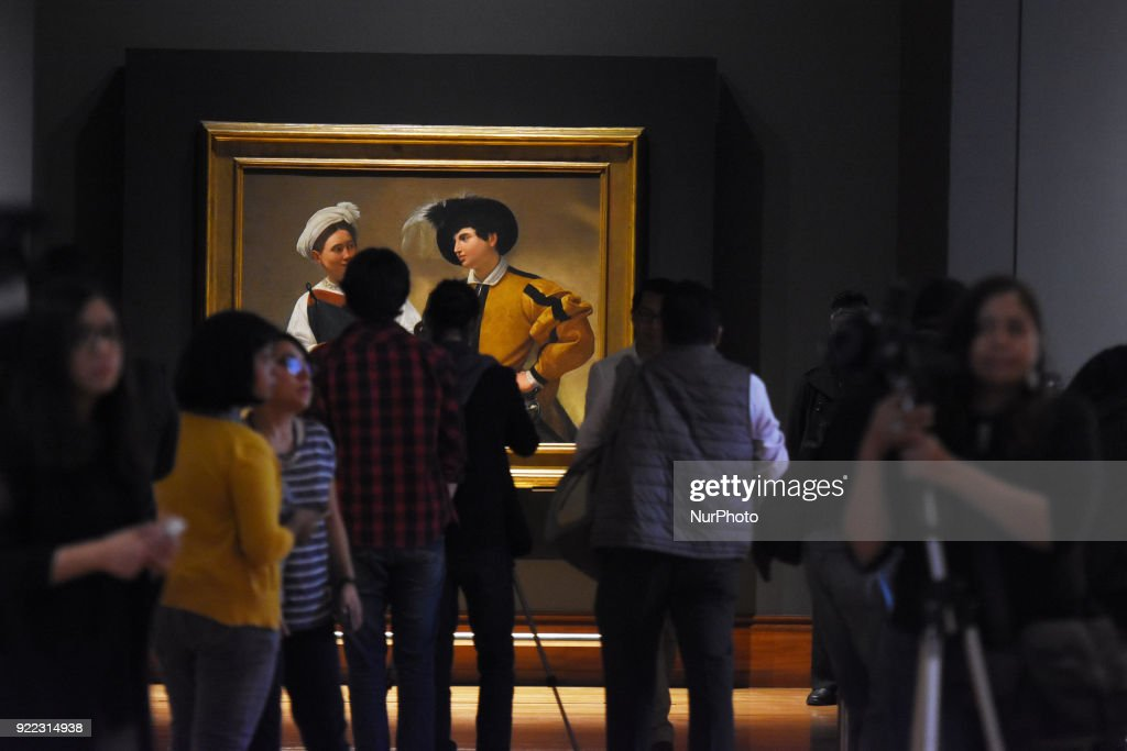 Caravaggio Art Exhibition in Mexico City : Fotografía de noticias
