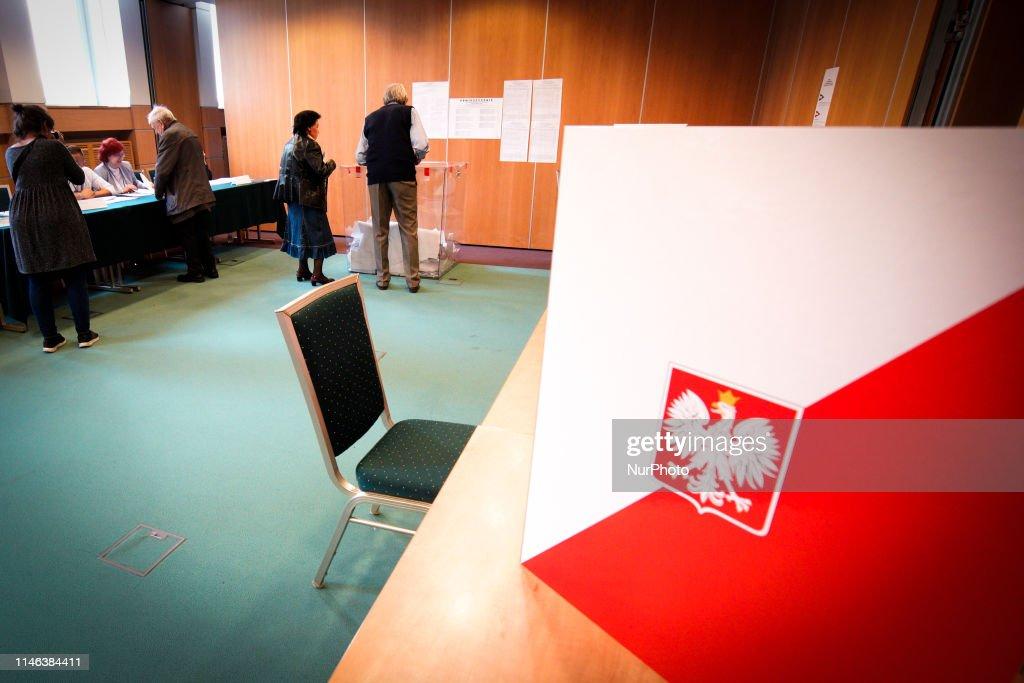 POL: Polish Votes In EU Parliament Elections