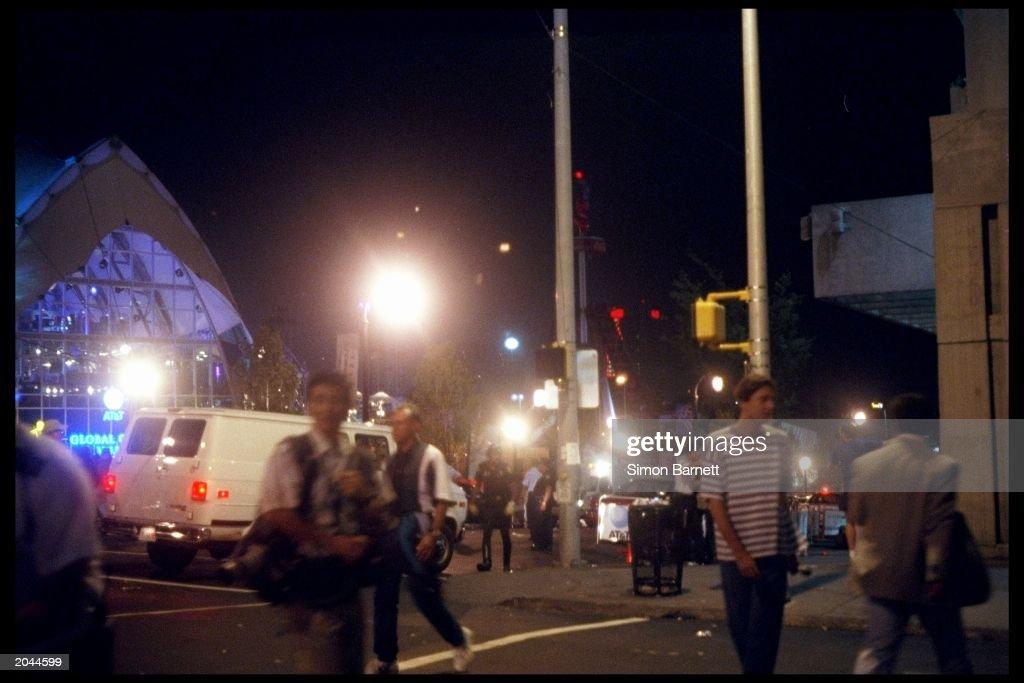 Atlanta Explosion Scene  : ニュース写真
