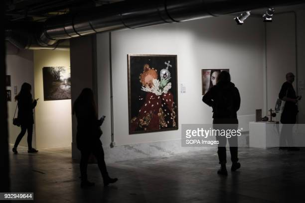 People are watching the exhibition 54 artists are inspired by 'The Walking Dead' and they present their own perspective in the postapocalyptic and...