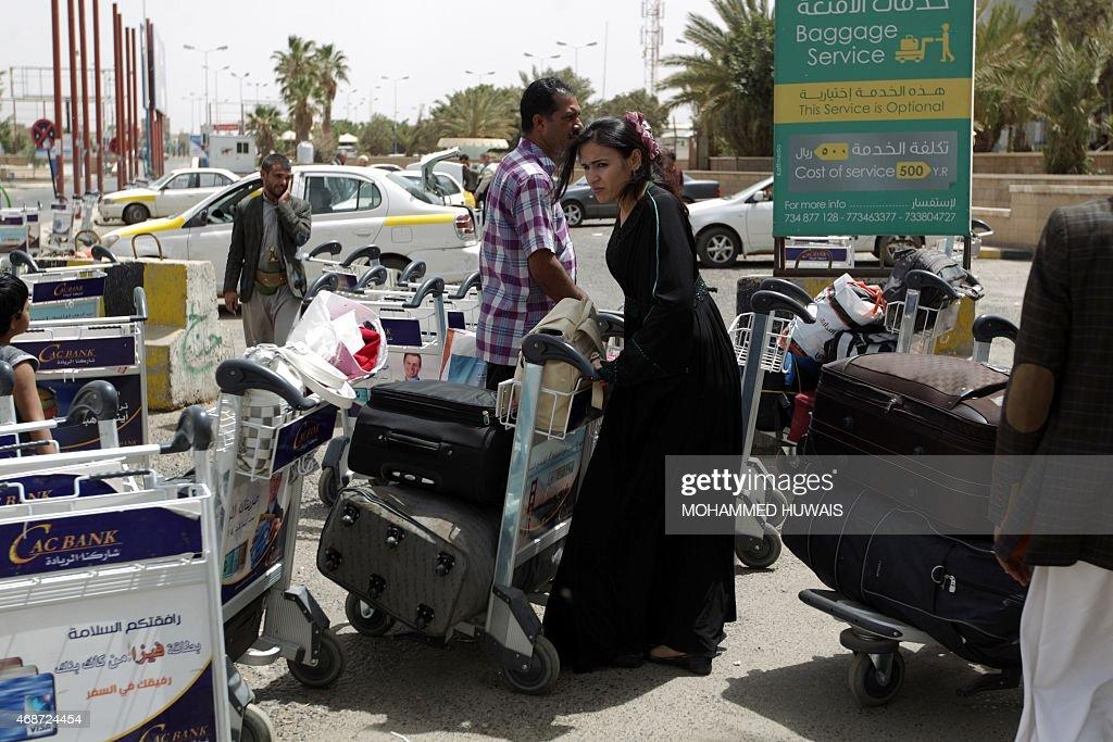 YEMEN-CONFLICT-EVACUATION : Foto di attualità