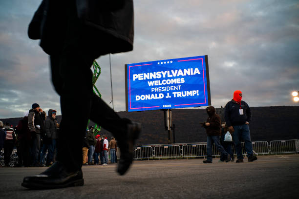 PA: President Donald Trump Holds Rally In Montoursville, Pennsylvania