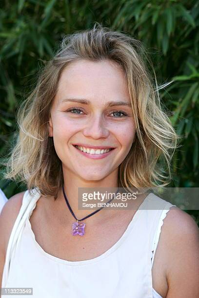 People At 2006 Roland Garros Tennis Tournament On June 10Th 2006 In Paris France Here Claire Borotra