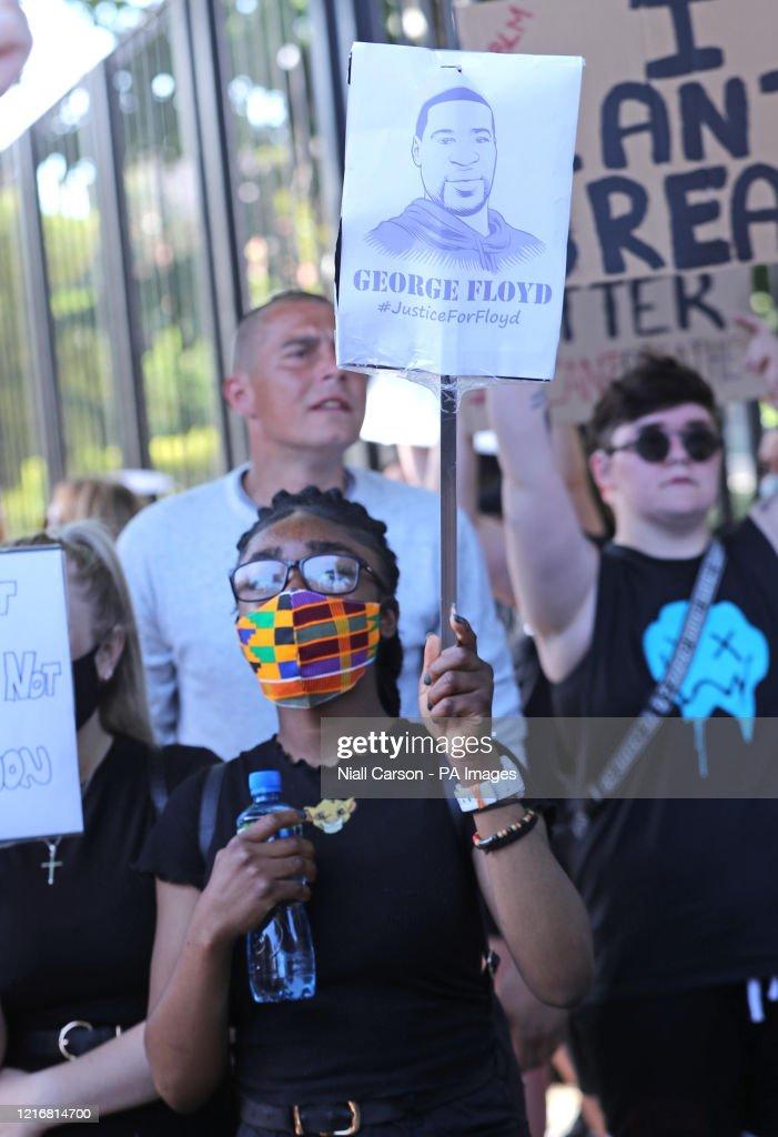 Black Lives Matter protests : News Photo