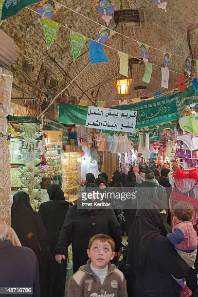 People at Bazaar.