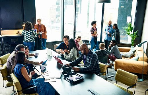 People at business meeting - gettyimageskorea