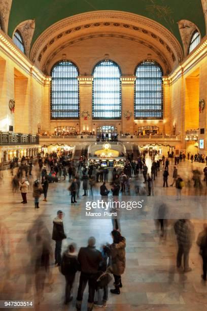 Personas en el Grand Central Terminal, Nueva York