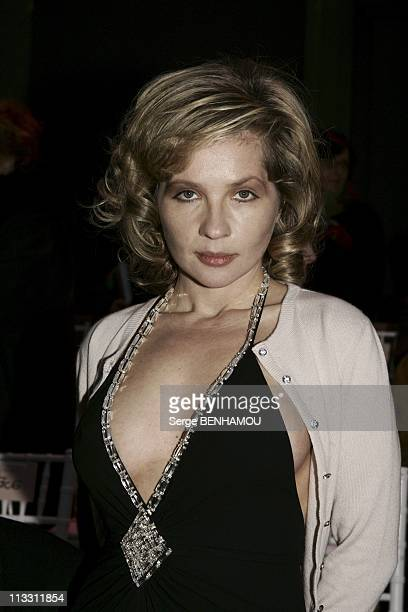 People At Lacroix Fashion Show Haute Couture Spring Summer 2005 On January 25Th 2005 In Paris France Eva Ionesco