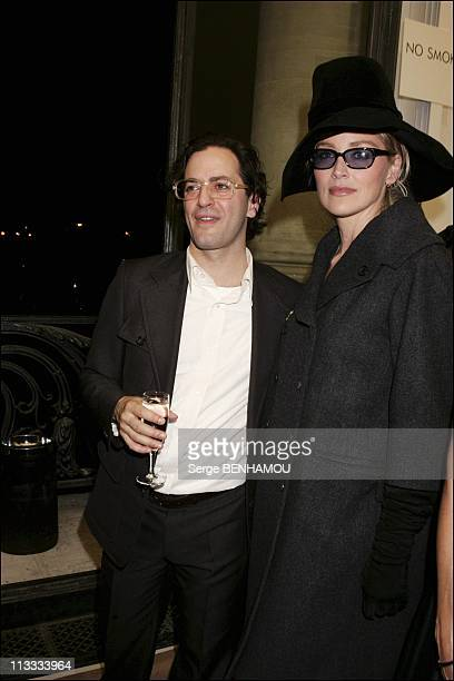 People At Louis Vuitton Ready To Wear SpringSummer 2006 Fashion Show On October 9Th 2005 In Paris France Here Mark Jacobs And Sharon Stone