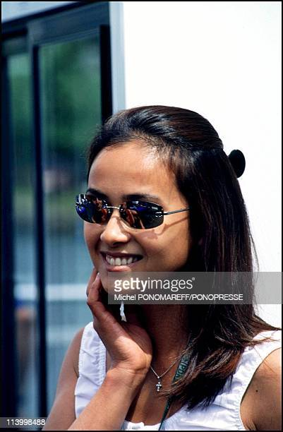 People at Montreal grand prix In Montreal Canada On June 16 2000Goto Kumiko