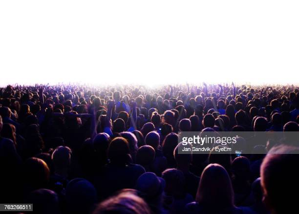 People At Music Concert