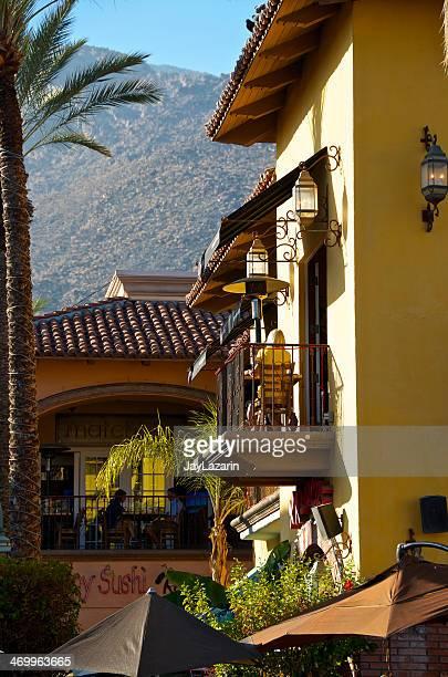 pessoas ao ar livre, restaurantes, palm springs, califórnia, eua - usa - fotografias e filmes do acervo