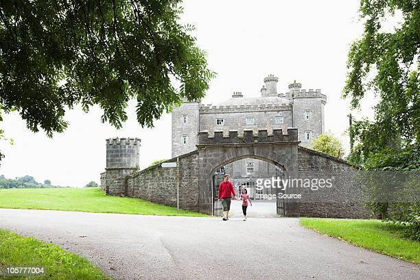 People at Slane Castle, Slane, Ireland