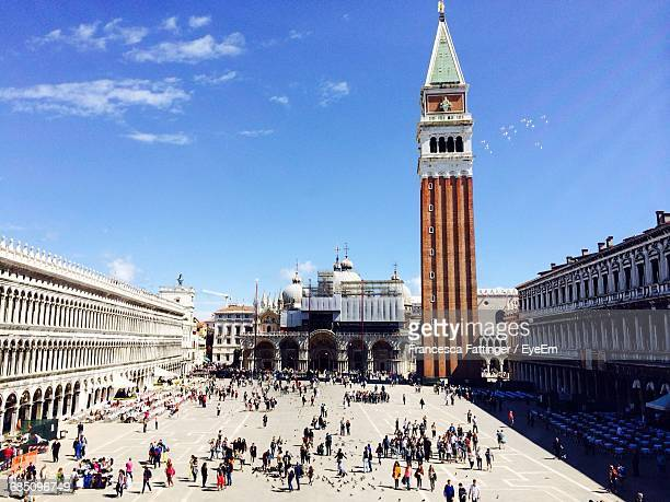 People At St Mark Square