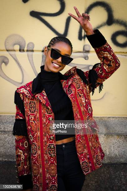 People at Street Style At Etro Fashion Show: February 21 - Milan Fashion Week Fall/Winter 2020-2021 21 February 2020, Milan, Italy
