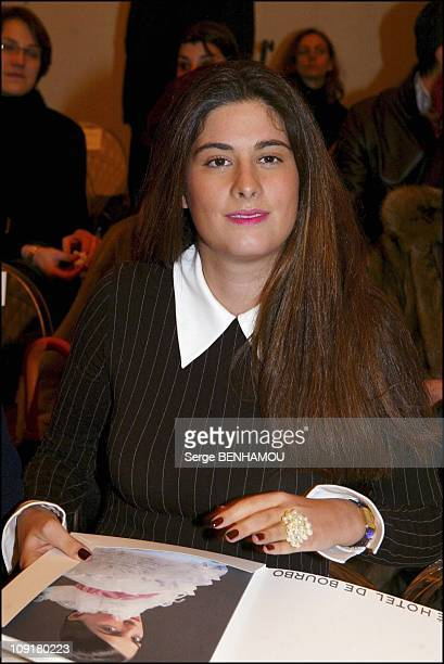 People At The Chanel Haute Couture SpringSummer 2004 Show On January 20 2004 In Paris France Mrs MarieCaroline Ferry