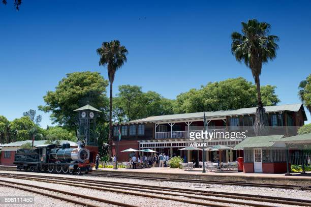 people at the rovos rail train station - pretoria stock pictures, royalty-free photos & images
