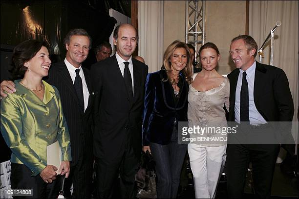 People At The Stella Mccartney SpringSummer 2005 Ready To Wear Fashion Show On October 7 2004 In Paris France Stella Mccartney The Designer And The...