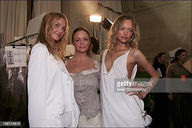 People At The Stella Mccartney SpringSummer 2005 Ready To Wear Fashion Show On October 7 2004 In Paris France Stella Mccartney The Designer