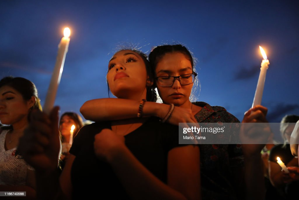 22 Dead And 26 Injured In Mass Shooting At Shopping Center In El Paso : News Photo
