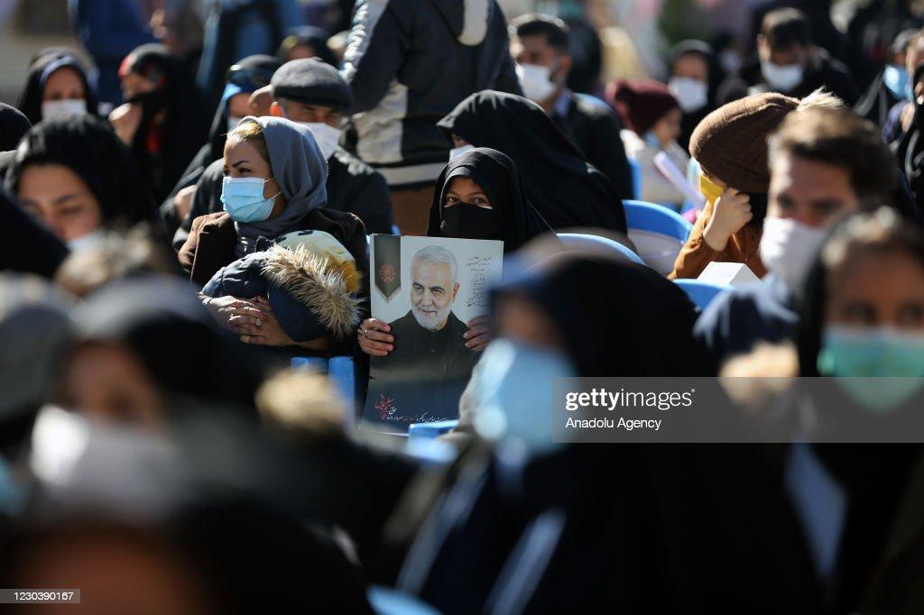 First anniversary of the Iranian General Qasem Soleimani's killing : ニュース写真