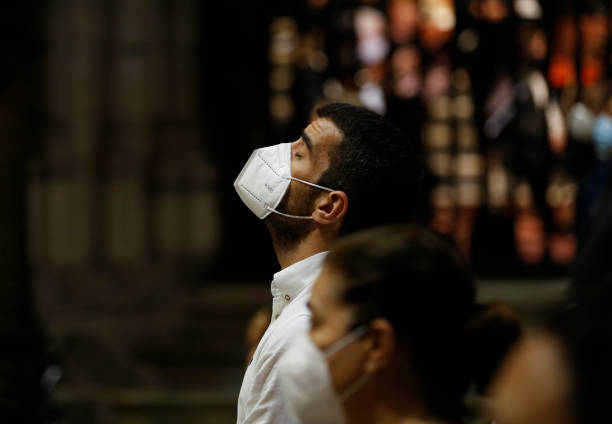 ESP: Mass Tribute For Covid Victims At Seville's Cathedral