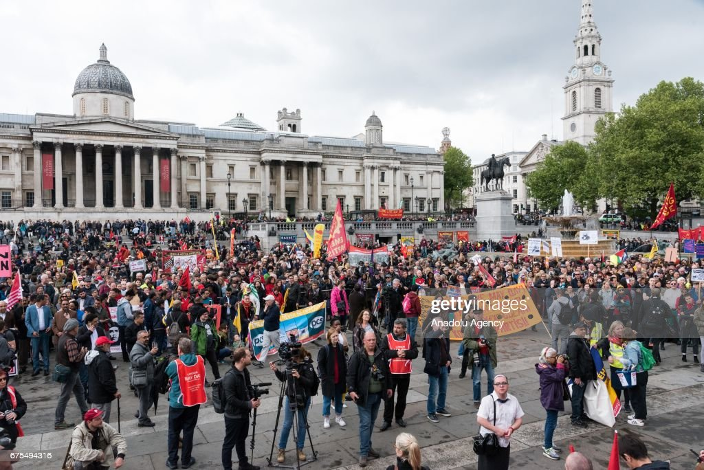 May Day in London   : News Photo