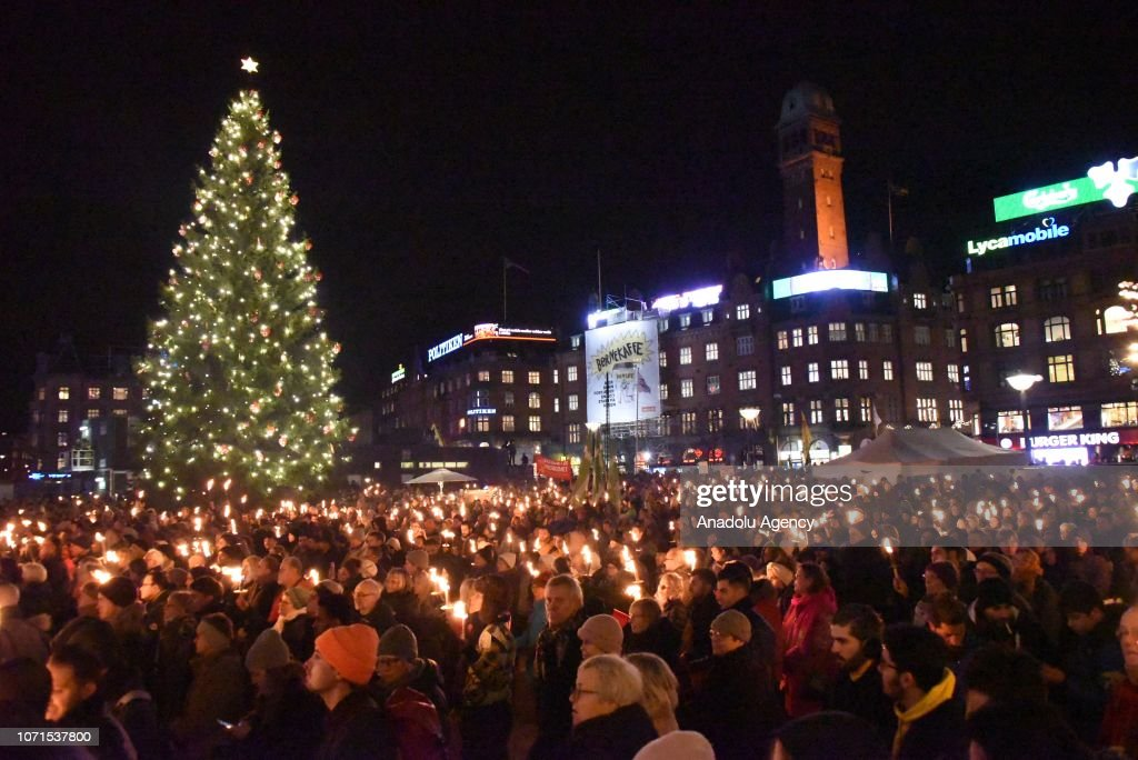 Protest against the new practices towards refugees in Denmark : News Photo