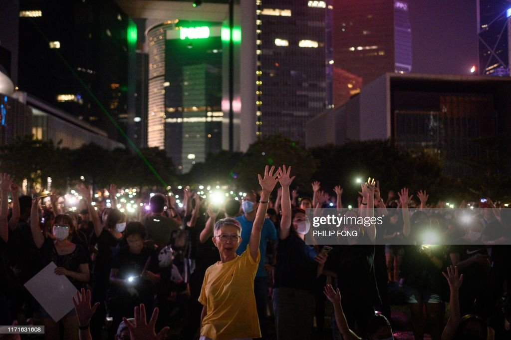 HONG KONG-CHINA-politics-unrest-CRIME : News Photo
