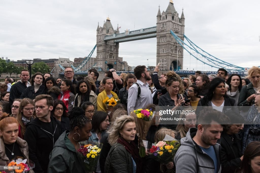 Aftermath of the London Bridge terror incident : Nieuwsfoto's