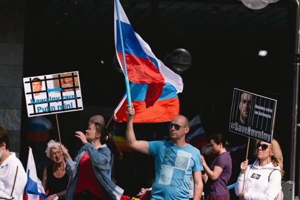 DEU: Anti-Kremlin Rally In Cologne