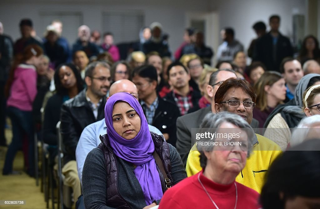US-POLITICS-TRUMP-IMMIGRATION-ISLAM : ニュース写真