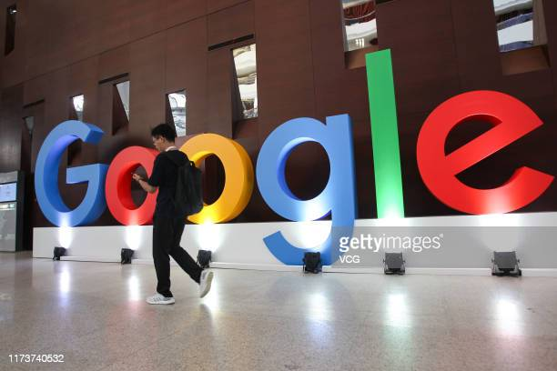 People attend Google Developer Days China 2019 on September 10 2019 in Shanghai China