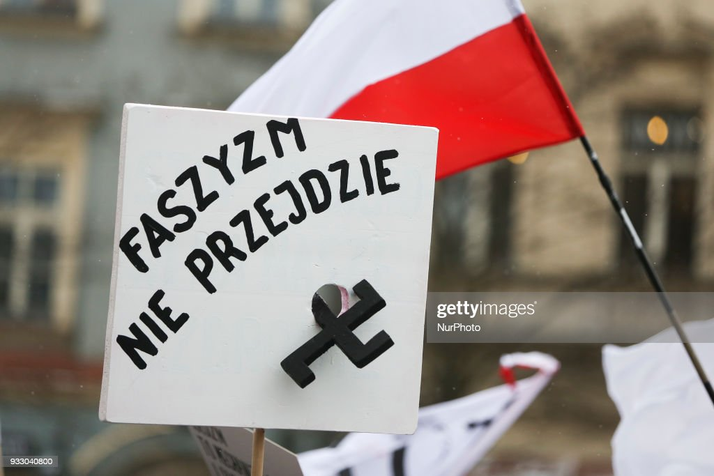 STOP RACISM - rally in Poland
