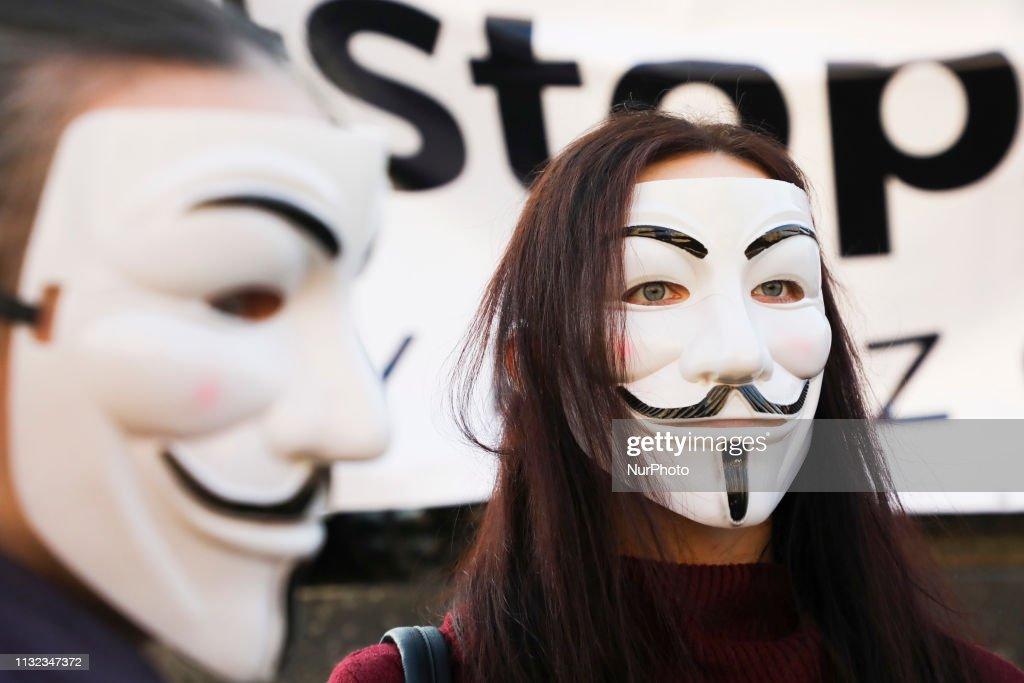 POL: 'Stop ACTA 2' Protest In Krakow