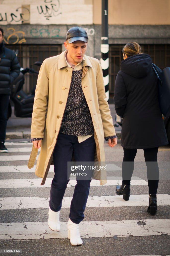 January 13 Milan Men S Fashion Week Fall Winter 2020 January 2020 News Photo Getty Images
