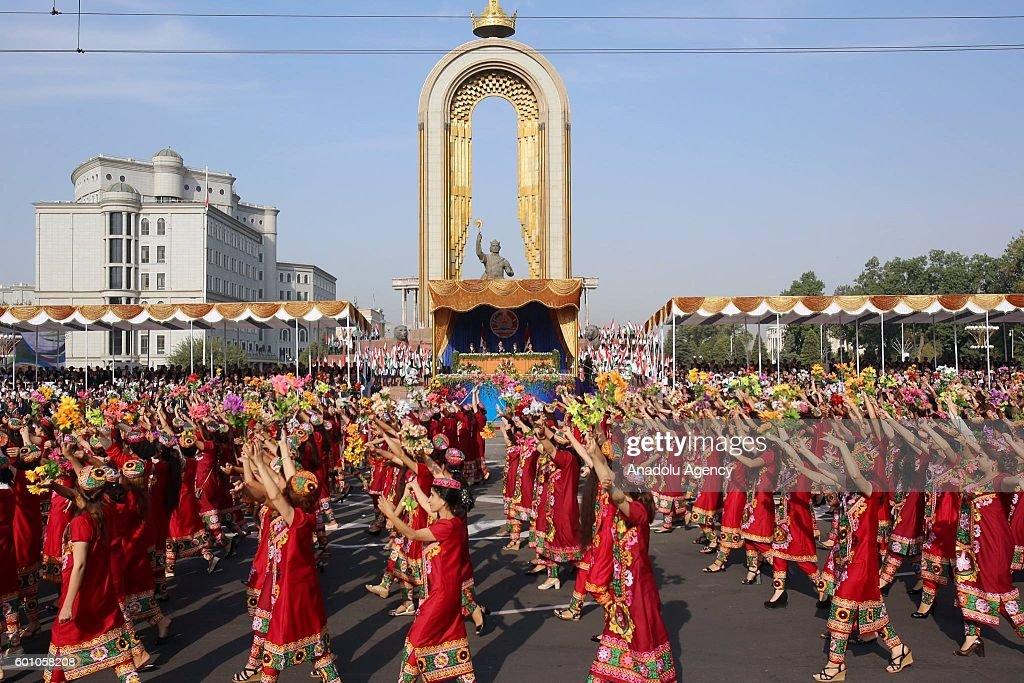 25th anniversary of Tajikistan Independence Day : News Photo