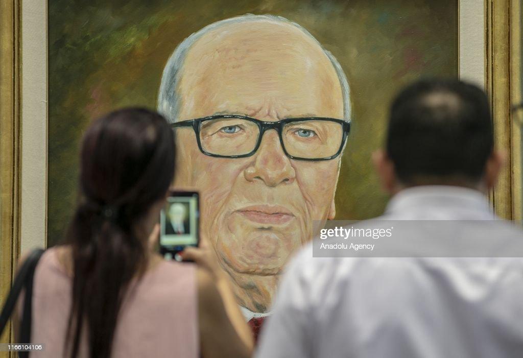 Late Tunisian President Beji Caid Essebsi's 40th-day commemoration : Nieuwsfoto's