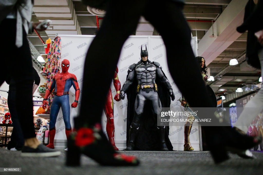 People attend the annual New York Toy Fair, at the Jacob K. Javits Convention Center on February 20, 2018, in New York. /