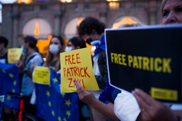 ITA: Protests In Bologna Over The Detention Of Egyptian Student Patrick Zaki